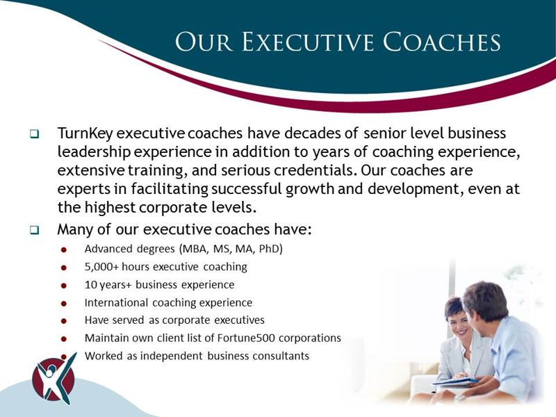 TurnKey's Executive Coaches