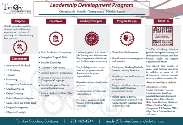 Leadership Development Program Brochure