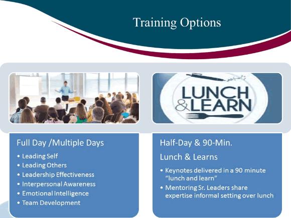 Training options