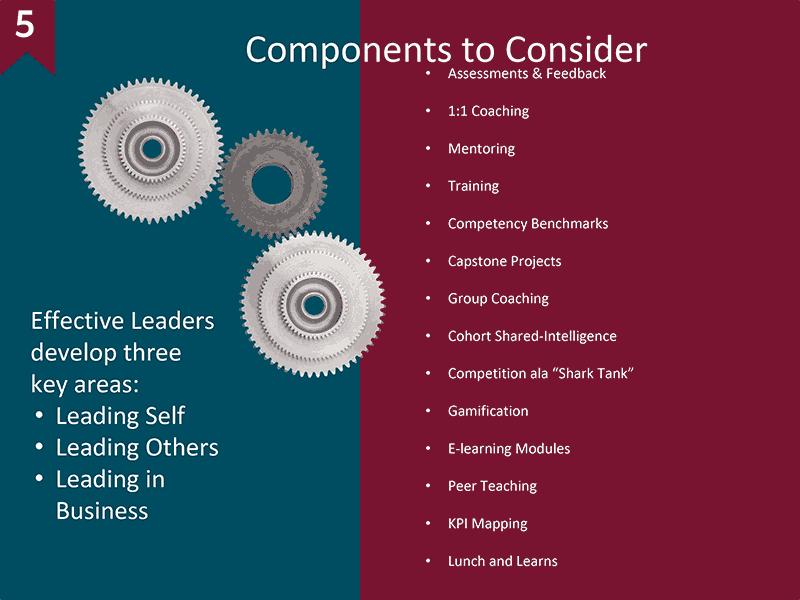 business acumen training program components