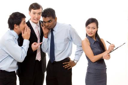Workplace gossip is an indicator or poor leadership